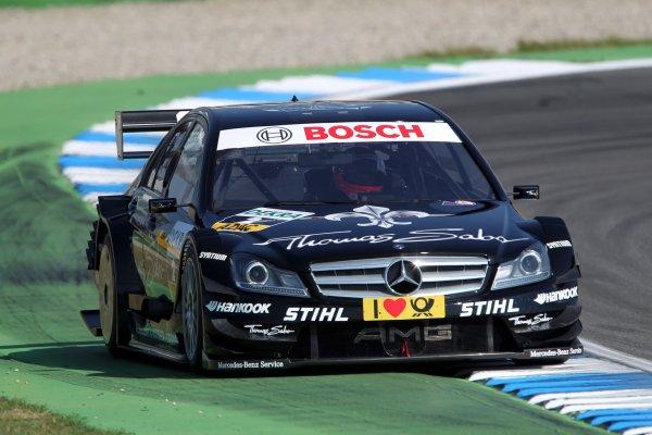 Gary Paffett (GBR), Thomas Sabo AMG Mercedes.DTM, Rd1, Hockenheim, Germany, 29 Apr - 1 May 2011.World Copyright: LAT Photographicref: Digital Image dne1130ap30