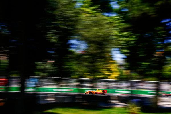2017 FIA Formula 2 Round 4. Baku City Circuit, Baku, Azerbaijan. Sunday 25 June 2017. Sean Gelael (INA, Pertamina Arden) Photo: Andy Hone/FIA Formula 2. ref: Digital Image _ONY9826