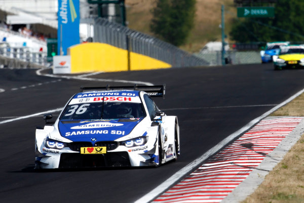 2017 DTM Round 3 Hungaroring, Budapest, Hungary. Sunday 18 June 2017. Maxime Martin, BMW Team RBM, BMW M4 DTM World Copyright: Alexander Trienitz/LAT Images ref: Digital Image 2017-DTM-R3-HUN-AT1-2377