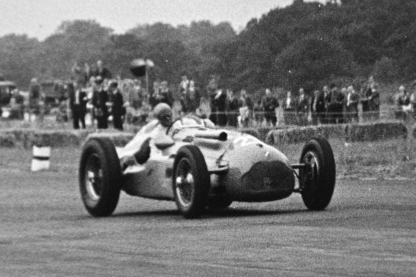 1951 British Grand Prix.Silverstone, Great Britain. 14 July 1951.Louis Chiron (Lago-Talbot T26C-DA). Ref-C29865.World Copyright - LAT Photographic