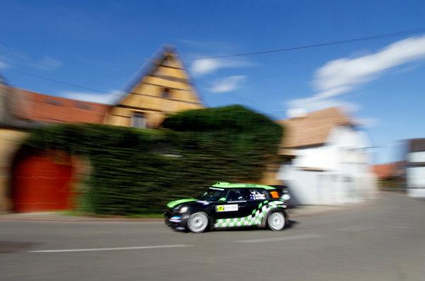 Round 11, Rallye de France 20124th - 7th October 2012Chris Atkinson, MINI, actionWorldwide Copyright: McKlein/LAT
