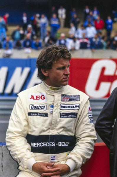 Stanley Dickens, Team Sauber Mercedes.