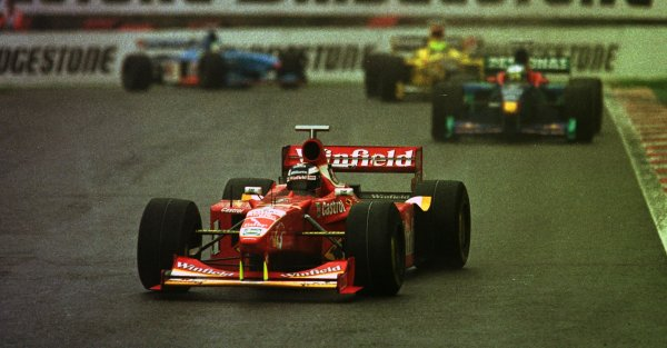 1998 Belgian Grand Prix.Spa-Francorchamps, Belgium. 28-30 August 1998.Heinz-Harald Frentzen (Williams FW20 Mecachrome) 4th position.World Copyright - LAT Photographic