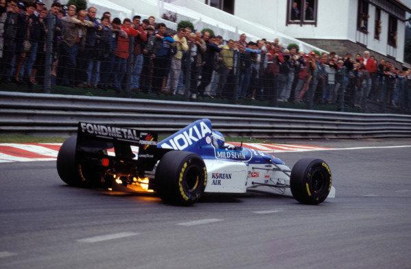 Mika Salo, Tyrrell 023 Yamaha.