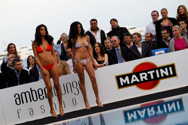 Le Meridien Beach Plaza Hotel, Monte Carlo, Monaco14th May 2010Models show off bikinis.World Copyright: Glenn Dunbar/LAT Photographicref: Digital Image _G7C8900