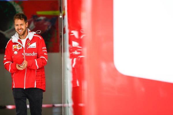 Shanghai International Circuit, Shanghai, China.  Friday 7 April 2017. Sebastian Vettel, Ferrari. World Copyright: Andrew Hone/LAT Images ref: Digital Image _ONZ4227