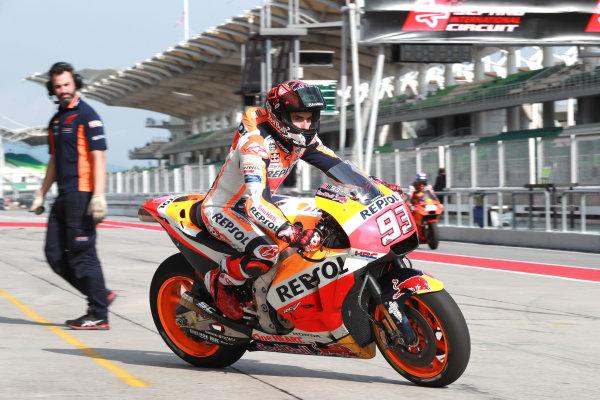 2018 MotoGP Championship - Sepang test, Malaysia Tuesday 30 January 2018 Marc Marquez, Repsol Honda Team World Copyright: Gold and Goose / LAT Images ref: Digital Image 1087