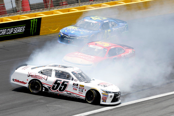 #55: Brandon Hightower, J.P. Motorsports, Toyota Camry Jani-King