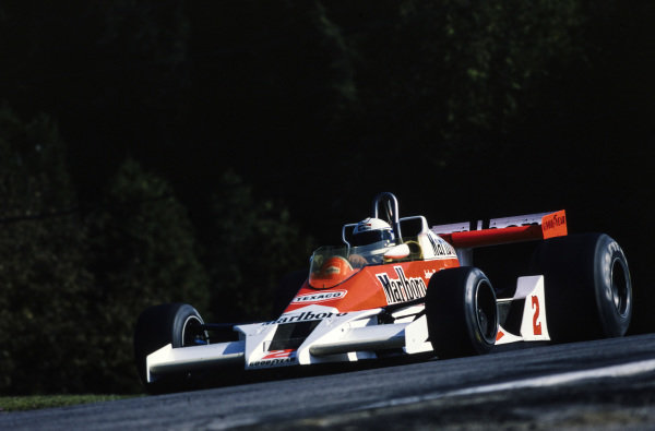 Jochen Mass, McLaren M26 Ford, 3rd position.