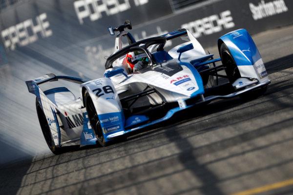 Antonio Felix da Costa (PRT), BMW I Andretti Motorsports, BMW iFE.18 locks up