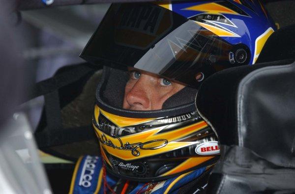 2003 NASCAR Bud Shootout Night Race 8, February 2003Michael Waltrip-World Copyright -Robt LeSieur 2003LAT Photographic-ref digital image