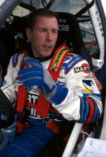 2000 World Rally ChampionshipRound 8, New Zealand Rally14th -16th July 2000Colin McRae - Ford Focus, podium.World - Mcklein / LAT Photographic