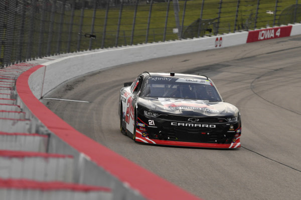 #21: Joe Graf Jr., Richard Childress Racing, Chevrolet Camaro Eat, Sleep, Race