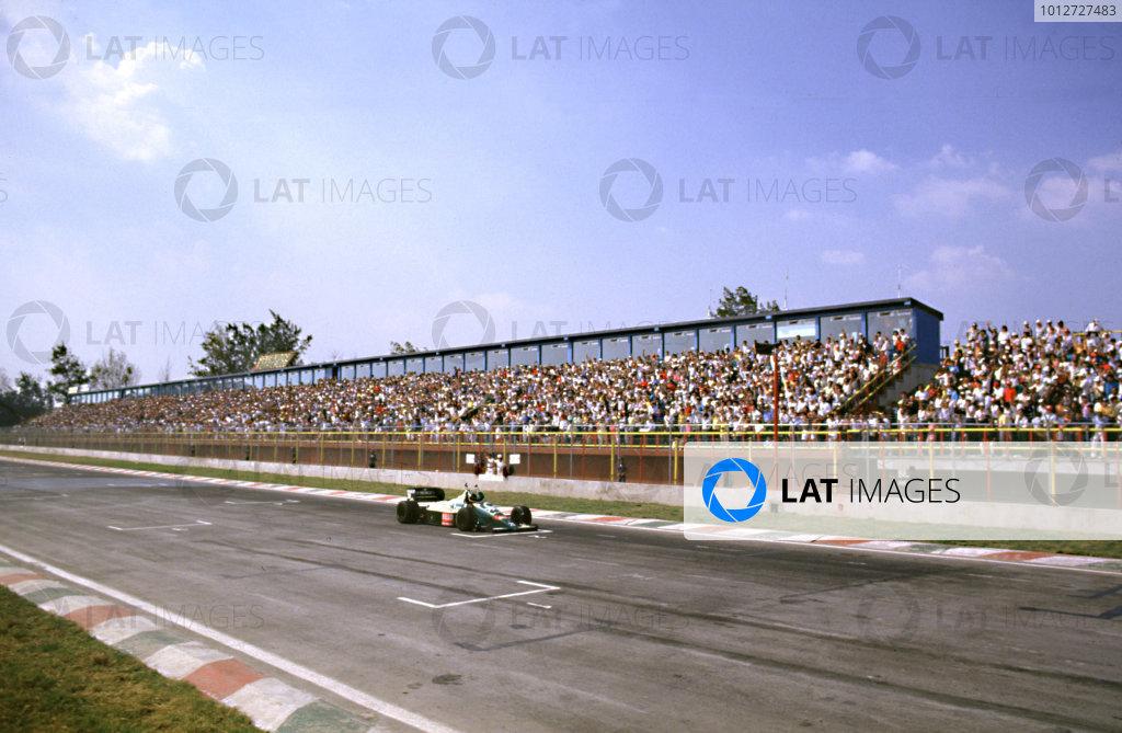 1986 Mexican Grand Prix.
