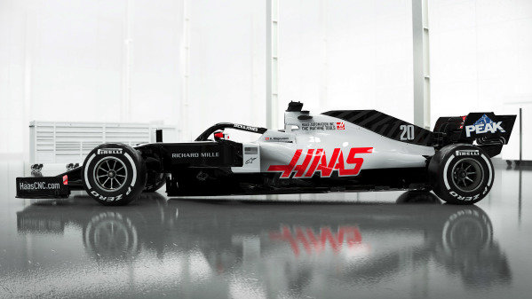 Haas Formula 1 Factory, Banbury, United Kingdom February 6, 2020 The Haas VF-20 is revealed NOTE TO EDITORS, COPYRIGHT: Haas F1 Copyright free for editorial use only