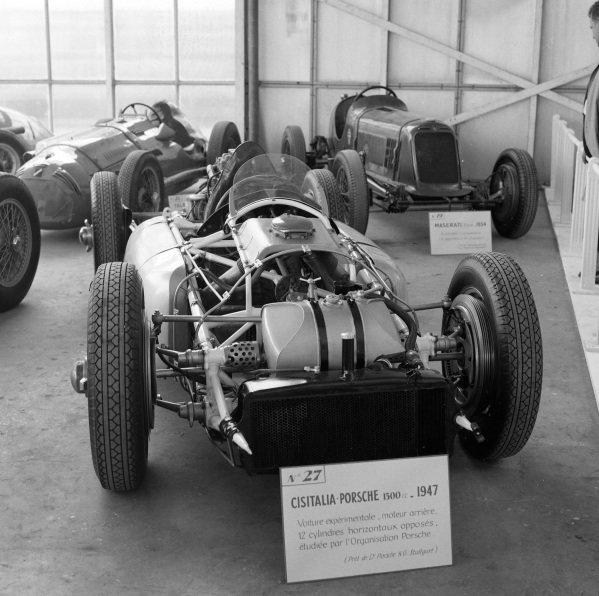 Cisitalia-Porsche chassis