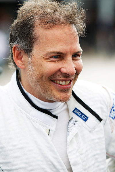 FIA Formula E Test Day, Donington Park, UK.  10th August 2015. Jacques Villeneuve (CAN), Venturi VM200-FE-01  Photo: Sam Bloxham/FIA Formula E/LAT ref: Digital Image: _G7C4532