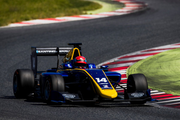 2016 GP3 Series Test 2. Circuit de Catalunya, Barcelona, Spain. Thursday 20 April 2017. Santino Ferrucci (USA, DAMS)  Photo: Zak Mauger/GP3 Series Media Service. ref: Digital Image _56I5496