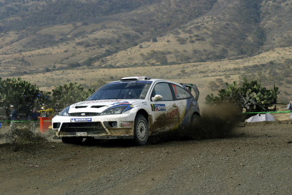 2004 FIA World Rally Champs. Round three, Corona Rally Mexico.11th-14th March 2004.Markko Martin Ford, action.World Copyright: McKlein/LAT