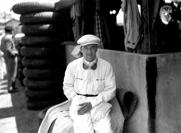 1935 French Grand Prix.Montlhery, France. 23 June 1935.Rudolf Caracciola (Mercedes-Benz).World Copyright: LAT Photographic.Ref-MotorSport neg