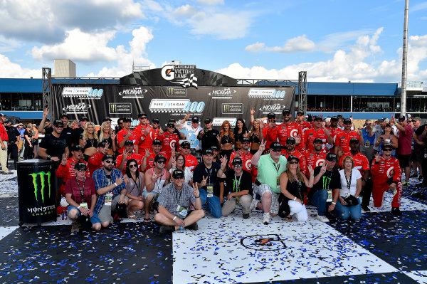 Monster Energy NASCAR Cup Series Pure Michigan 400 Michigan International Speedway, Brooklyn, MI USA Sunday 13 August 2017 Kyle Larson, Chip Ganassi Racing, Target Chevrolet SS wins World Copyright: Rusty Jarrett LAT Images