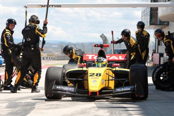 ALCANIZ (ESP) MAY 4-6 2012 -  First Round of the Formula Renault 3 5 Series 2012 at Motorland Aragon. Arthur Pic #28 Dams. Action. © 2012 Sebastiaan Rozendaal / LAT Photographic