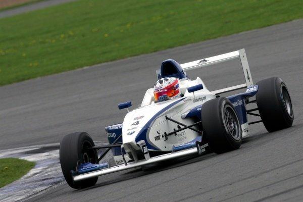 Race 2 winner Stian Sorlie (NOR) Fortec Motorsport. Formula BMW UK Championship, Rd17 & Rd18, Silverstone, England, 17-18 September 2005. DIGITAL IMAGE