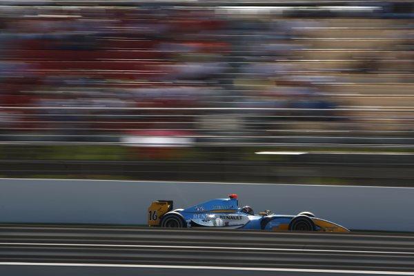 2008 GP2 Series. Round 1. Sunday Race.Barcelona, Spain. 27th April 2008Davide Valsecchi (ITA, Durango). Action. World Copyright: Andrew Ferraro/GP2 Series Media Service.ref:__H0Y2342 jpg