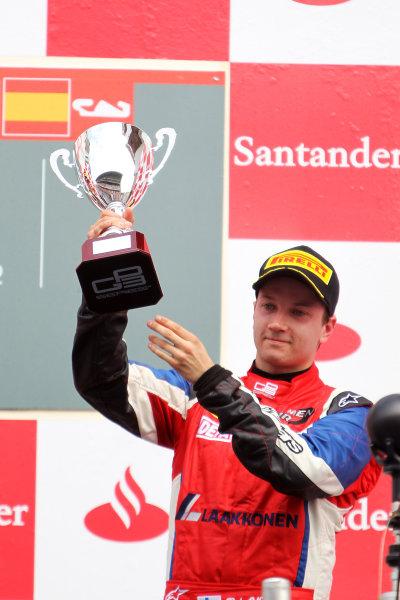 Circuit de Catalunya, Barcelona, Spain. 13th May 2012. Sunday Race. Matias Laine (FIN, MW Arden) Portrait.  Photo: Glenn Dunbar/GP3 Media Service. ref: Digital ImageCG8C4498.jpg