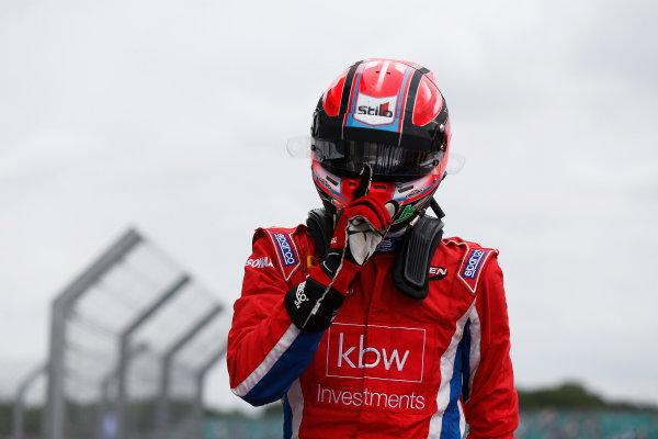 2015 GP3 Series Round 3.  Silverstone, Northamptonshire, England. Sunday 5 July 2015. Kevin Ceccon (ITA, Arden International)  Photo:  Sam Bloxham/GP3 Media Service ref: Digital Image _SBL0851