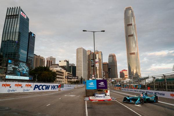 2017/2018 FIA Formula E Championship. Round 1 - Hong Kong, China. Saturday 02 December 2017. Antonio Felix Da Costa (POR), MS + AD Andretti Formula E, Andretti ATEC-03. Photo: Sam Bloxham/LAT/Formula E ref: Digital Image _J6I3776