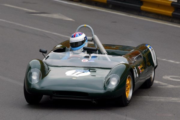 Adrian Rush (GBR) Lotus 23B.GP Anniversary Trophy and Golden Jubilee Cup, Circuito de Guia, Macau, 8 November 2003.DIGITAL IMAGE