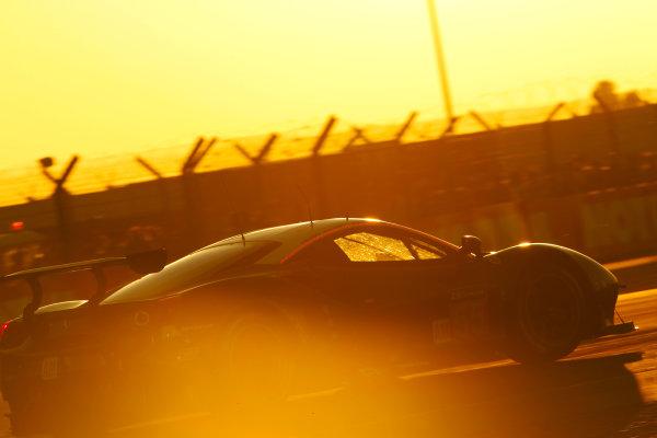 2017 Le Mans 24 Hours Circuit de la Sarthe, Le Mans, France. Thursday 15 June 2017 #55 Spirit of Race Ferrari 488 GTE: Duncan Cameron, Aaron Scott, Marco Cioci  World Copyright: JEP/LAT Images