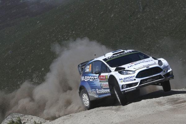 Ott Tanak (EST) / Raigo Molder (EST) Ford Fiesta RS WRC at World Rally Championship, Rd5, Rally Portugal, Day Two, Matosinhos, Portugal, 23 May 2015.