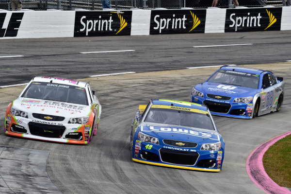 28-30 October, 2016, Martinsville, Virginia USA Jimmie Johnson, gray Gaulding, Jeff Gordon ?2016, John Harrelson / LAT Photo USA