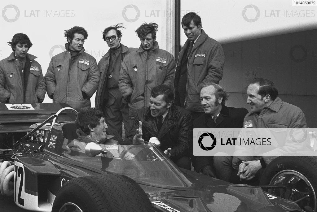 1970 Lotus 72 Launch.