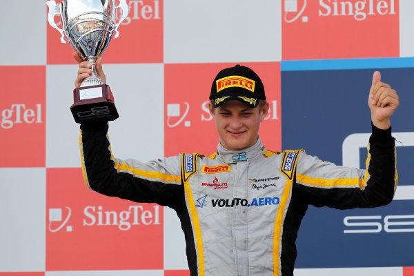2013 GP2 Series. Round 10.  Marina Bay Circuit, Singapore. 22nd September 2013. Sunday Race.  Marcus Ericsson (SWE, Dams). World Copyright: Alastair Staley/GP2 Media Service  ref: Digital Image _A8C9779.jpg
