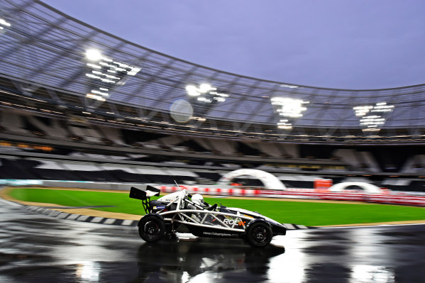 2015 Race Of Champions Olympic Stadium, London, UK Thursday 19 November 2015 Daniel Ricciardo (AUS) in the Ariel Atom Cup in Practice Copyright Free FOR EDITORIAL USE ONLY. Mandatory Credit: 'Race Of Champions'