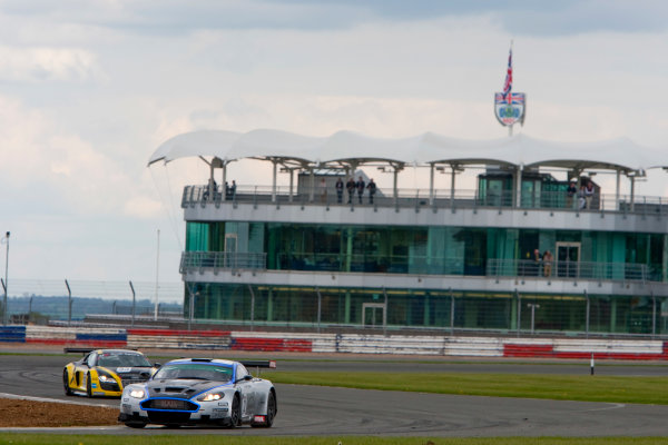 Silverstone, England. 30th April - 2nd May 2010.Luc Paillard / Thomas Accary (Hexis AMR Aston Martin DBRS9). Action. World Copyright: Alastair Staley/LAT PhotographicRef: _O9T6625 jpg
