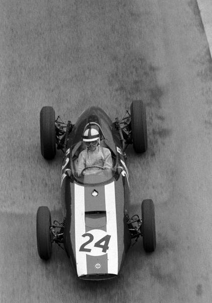 Jack Lewis (GBR) BRM P48/57 failed to qualify in his only drive for BRM.