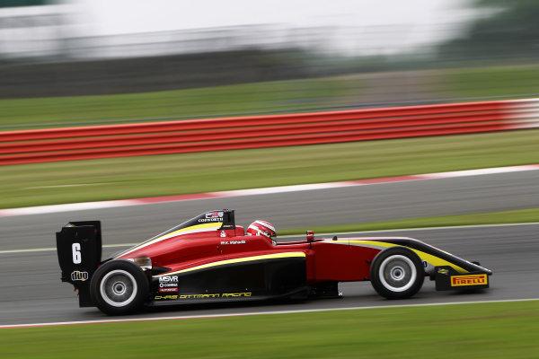 2016 BRDC Formula Three Championship, 11th-12th June 2016, SIlverstone, UK, Krishnaraaj Mahadik (IND) Chris Dittmann Racing BRDC F3  World copyright. Ebrey/LAT Photographic