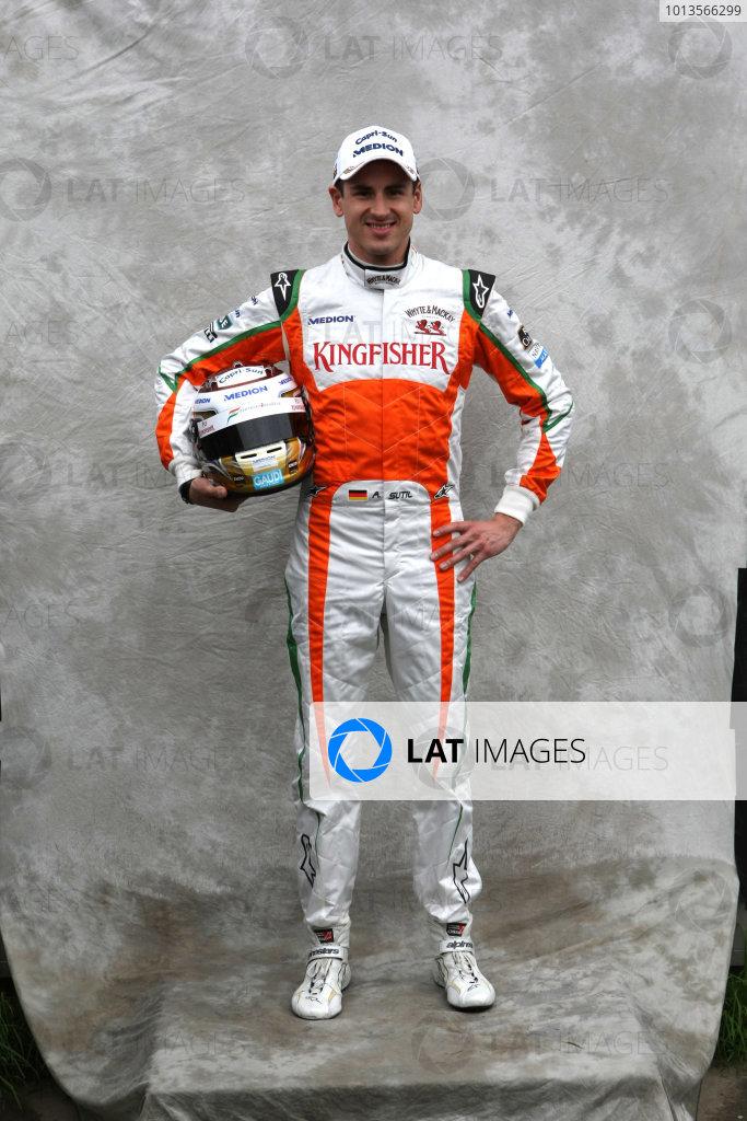 Albert Park, Melbourne, Australia24th March 2011.Adrian Sutil, Force India VJM04 Mercedes.World Copyright: LAT Photographicref: Digital Image2_LC1245