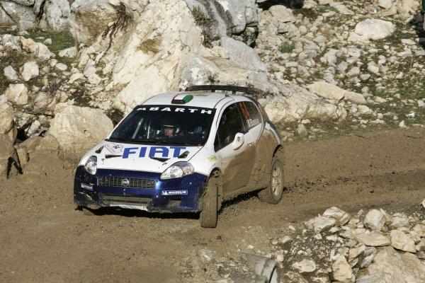 2006 FIA World Rally ChampionshipRound 13Rally of Turkey 200612th - 15th October 2006Giandomenico Basso, Fiat S2000, action.World Copyright: McKlein/LAT