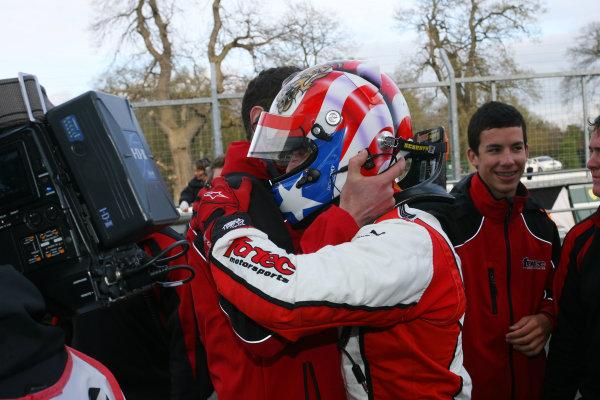 Oulton Park, Cheshire. 6th - 7th April 2012.Felix Serralles (PUR) Fortec Motorsport Dallara Mercedes.World Copyright: Ebrey/LAT Photographic.