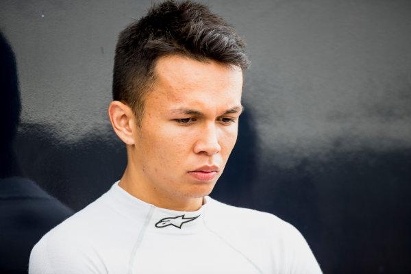 2017 FIA Formula 2 Round 9. Autodromo Nazionale di Monza, Monza, Italy. Friday 1 September 2017. Alexander Albon (THA, ART Grand Prix).  Photo: Zak Mauger/FIA Formula 2. ref: Digital Image _56I6212