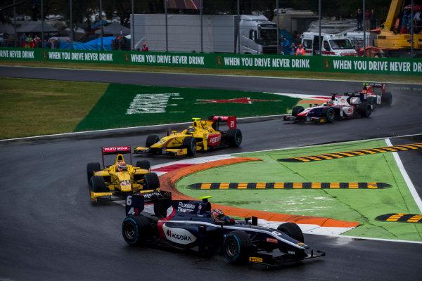 2017 FIA Formula 2 Round 9. Autodromo Nazionale di Monza, Monza, Italy. Saturday 2 September 2017. Artem Markelov (RUS, RUSSIAN TIME).  Photo: Zak Mauger/FIA Formula 2. ref: Digital Image _56I8111