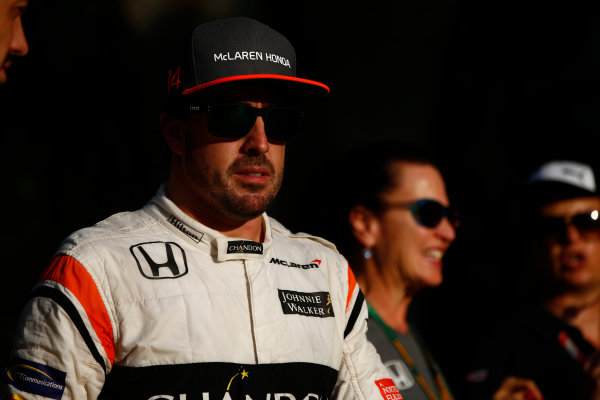 Sepang International Circuit, Sepang, Malaysia. Saturday 30 September 2017. Fernando Alonso, McLaren. World Copyright: Andrew Hone/LAT Images  ref: Digital Image _ONZ9778