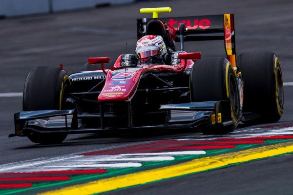 2017 FIA Formula 2 Round 5. Red Bull Ring, Spielberg, Austria. Friday 7 July 2017. Alexander Albon (THA, ART Grand Prix).  Photo: Zak Mauger/FIA Formula 2. ref: Digital Image _56I0822