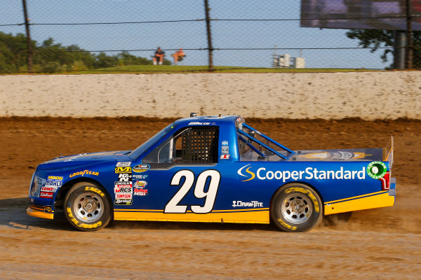 NASCAR Camping World Truck Series Eldora Dirt Derby Eldora Speedway, Rossburg, OH USA Tuesday 18 July 2017 Chase Briscoe, Cooper Standard Ford F150 World Copyright: Russell LaBounty LAT Images
