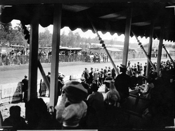 Le Mans, France.26-27 June 1906.George Heath (Panhard-Levassor 130).Published-Autocar 14/7/1906 p47.World Copyright - LAT Photographic
